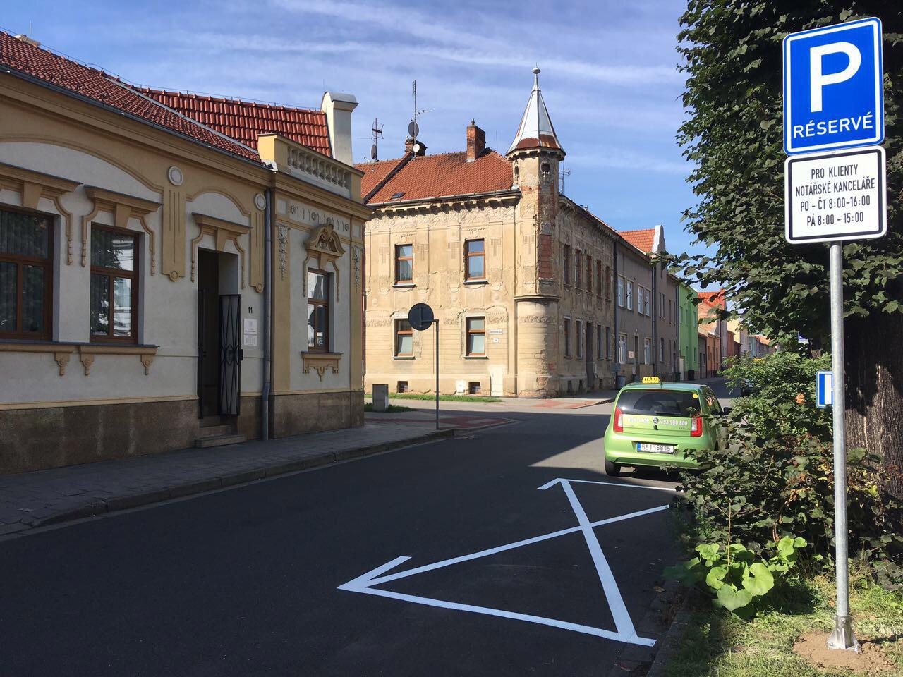 Mgr. Kateřina Štoplová — notářka v Prostějově — zajištěné parkování